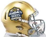 Notre Dame Fighting Irish Special 2016 San Antonio Shamrock Series NCAA Riddell Speed Mini Helmet