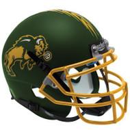 North Dakota State Bison Green Schutt XP Full Size Replica Helmet