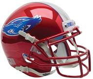 Florida Atlantic Owls Red Chrome Schutt Mini Authentic Helmet