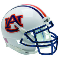 Auburn Tigers Chrome Mask Schutt Full Size Replica Football Helmet