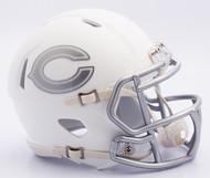 NFL Chicago Bears Riddell Ice Alternate Speed Mini Replica Helmet