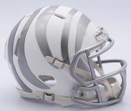 NFL Cincinnati Bengals Riddell Ice Alternate Speed Mini Replica Helmet