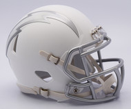 NFL San Diego Chargers Riddell Ice Alternate Speed Mini Replica Helmet