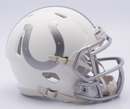 NFL Indianapolis Colts Riddell Ice Alternate Speed Mini Replica Helmet
