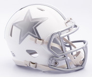 NFL Dallas Cowboys Riddell Ice Alternate Speed Mini Replica Helmet