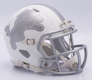 NFL Detroit Lions Riddell Ice Alternate Speed Mini Replica Helmet