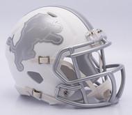 NFL Detroit Lions Riddell Ice Alternate Speed Mini Replica Helmet