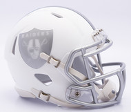 NFL Oakland Raiders Riddell Ice Alternate Speed Mini Replica Helmet
