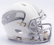 NFL Seattle Seahawks Riddell Ice Alternate Speed Mini Replica Helmet