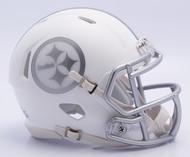 NFL Pittsburgh Steelers Riddell Ice Alternate Speed Mini Replica Helmet