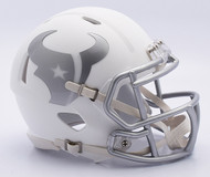 NFL Houston Texans Riddell Ice Alternate Speed Mini Replica Helmet