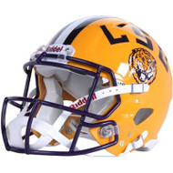 LSU Tigers NEW Riddell Full Size Authentic SPEED Helmet