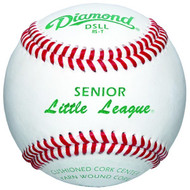 Diamond DSLL Senior Little League Leather Baseballs Dozen