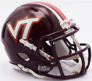 Virginia Tech Hokies 2016 NCAA Riddell Speed Mini Helmet