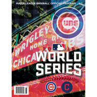 2016 Official World Series Program - Chicago Cubs Wrigley Field Version