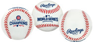 2016 MLB World Series Chicago Cubs Champions Collectible Souvenir Replica Baseball by Rawlings