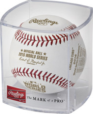 2016 World Series MLB Rawlings Official Baseball with Chicago Cubs Championship Logo - Cubed