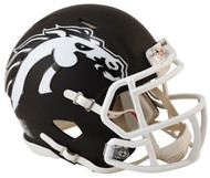 WESTERN MICHIGAN BRONCOS (MATTE BROWN) Riddell Speed Mini Helmet