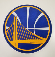 Golden State Warriors 3D Fan Foam Logo Sign