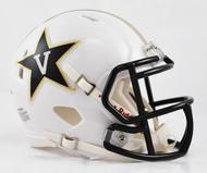 Vanderbilt Commodores Alternate White NCAA Revolution SPEED Mini Helmet