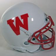 Wisconsin Badgers 1988-89 Schutt Throwback Mini Authentic Helmet