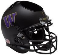 Washington Huskies Alternate Black Mini Helmet Desk Caddy by Schutt