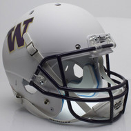 Washington Huskies Alternate White Schutt Full Size Replica Helmet