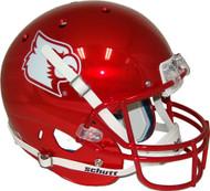 Louisville Cardinals NCAA Football Full-Size Replica Helmet—Red Chrome