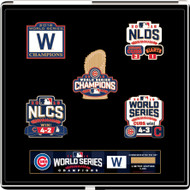 Chicago Cubs 2016 World Series Champions Commemorative Pin Set - Limited to 5,000 made