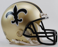 New Orleans Saints 1976-99 Throwback Riddell Mini Helmet