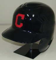 Cleveland Indians with C Rawlings LEC Coolflo Full Size Baseball Batting Helmet