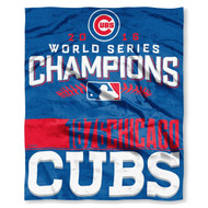 "Chicago Cubs The Northwest Company 2016 World Series Champions 50"" x 60"" Silk Touch Blanket"