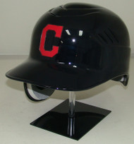 Cleveland Indians with C Logo Rawlings REC Coolflo Full Size Baseball Batting Helmet
