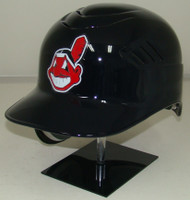 Cleveland Indians Chief Wahoo Rawlings REC Coolflo Full Size Baseball Batting Helmet