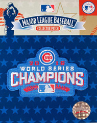 MLB Chicago Cubs 2016 World Series Champions Collectors Patch