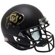 Colorado Buffaloes Alternate Black Schutt Full Size Replica Helmet