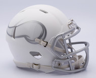 NFL Minnesota Vikings Riddell Ice Alternate Speed Mini Replica Helmet