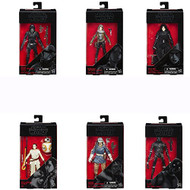 Star Wars Rogue One The Black Series 6 Inch Action Figures, Wave 7, Set of Six Figures