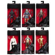 Star Wars Rogue One The Black Series 6 Inch Action Figures, Wave 8, Set of Six Figures