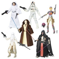 Star Wars The Black Series 6-Inch Action Figures Wave 9 Set