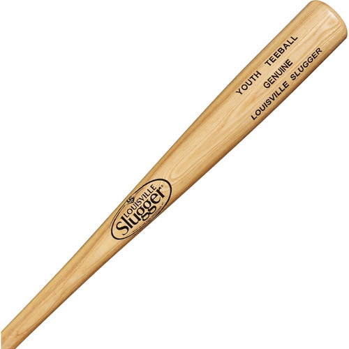 Louisville Slugger Ash Natural Wood Youth Tee Ball 26 Inch