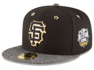 Men's San Francisco Giants New Era 2016 MLB All-Star Game Patch 59FIFTY Hat Cap