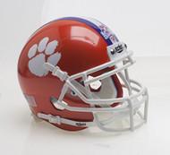 Clemson Tigers Special 2017 FBS NCAA National Champions Schutt Authentic Mini Helmet