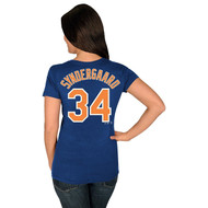 Noah Syndergaard New York Mets #34 MLB Women's Player T-Shirt