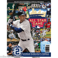DEREK JETER LIMITED COLLECTORS EDITION ALL STAR GAME 2014 FINAL SEASON PROGRAM