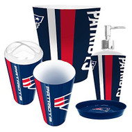 New England Patriots 5 Piece Bathroom Set