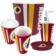 Washington Redskins 5 Piece Bathroom Set