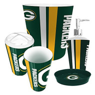 Green Bay Packers 5 Piece Bathroom Set