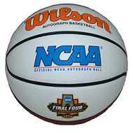 NCAA 2017 FINAL FOUR MARCH MADNESS OFFICIAL AUTOGRAPH LOGO BASKETBALL