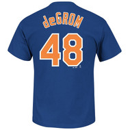 Jacob deGrom New York Mets #48 MLB Men's Player Name & Number T-shirt